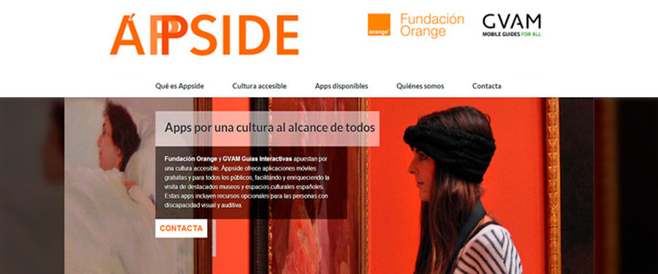Áppside: the new project to boost accessible apps in Spanish museums