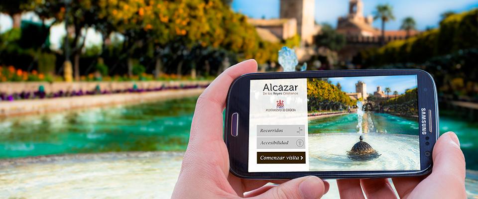 El Alcázar de Córdoba estrena app accesible