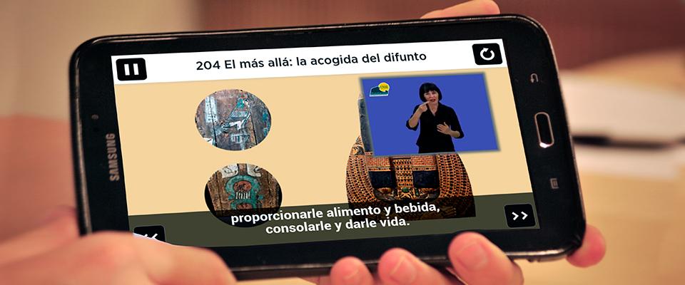 Respuesta de los usuarios de las guías multimedia del Museo Arqueológico Nacional