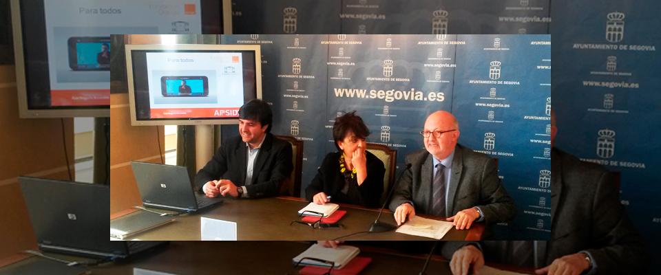 Segovia, primera ciudad española que cuenta con una app accesible