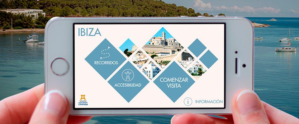 La ciudad de Ibiza estrena app turística