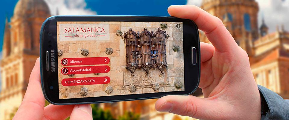 """Ya está disponible la app """"Salamanca"""", con 4 recorridos temáticos para la visita a la ciudad"""