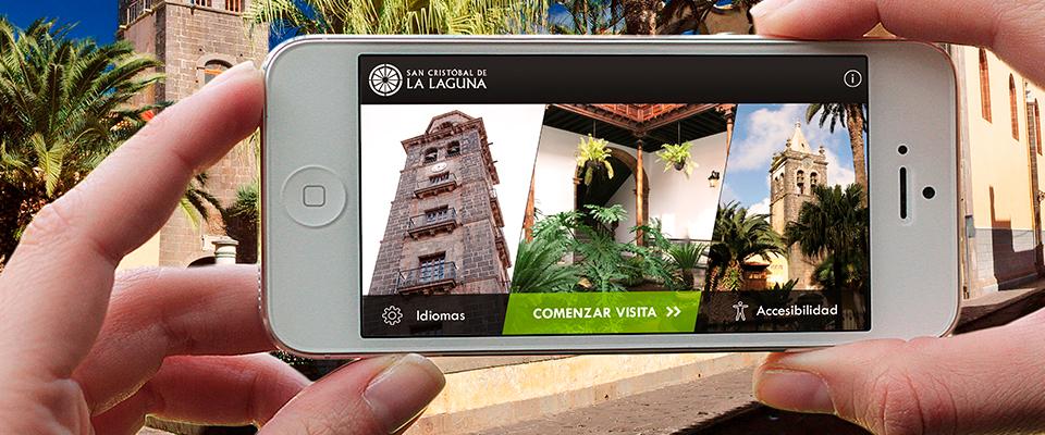 San Cristobal de La Laguna estrena una app accesible para todos sus visitantes