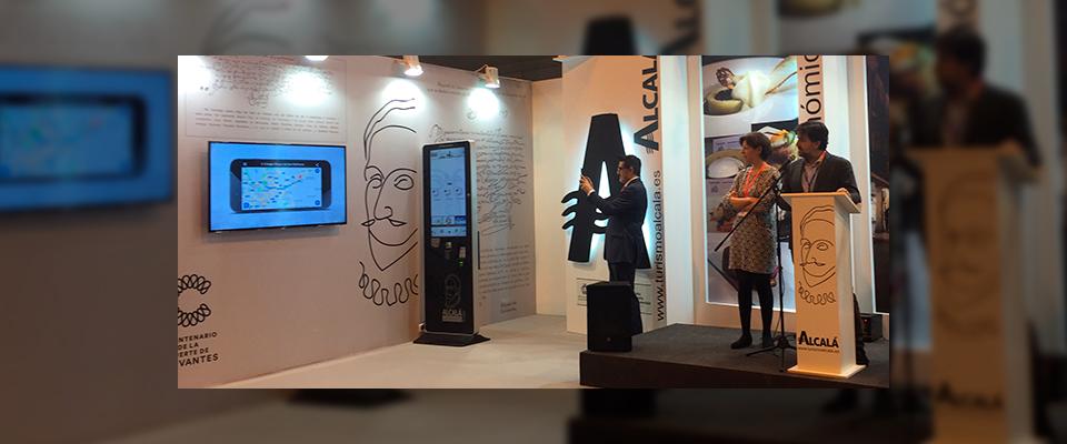 Alcalá de Henares presenta en Fitur 2016 una nueva app para la visita a la ciudad