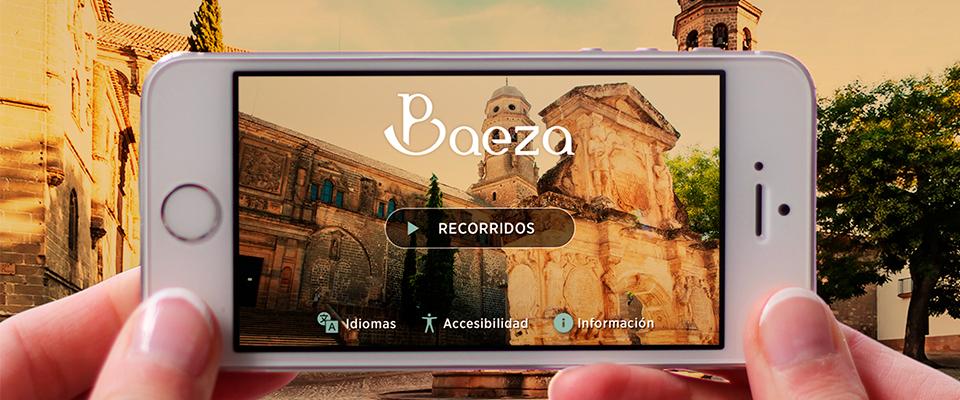 Baeza publica una app accesible para hacer turismo por la ciudad