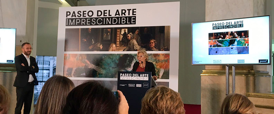 Madrid se abre al Paseo del Arte Imprescindible a través de una app
