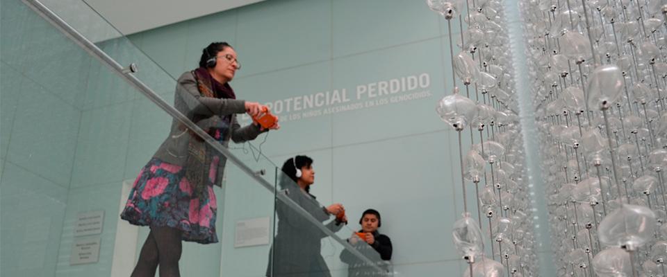 El Museo Memoria y Tolerancia de México a través de una guía multimedia