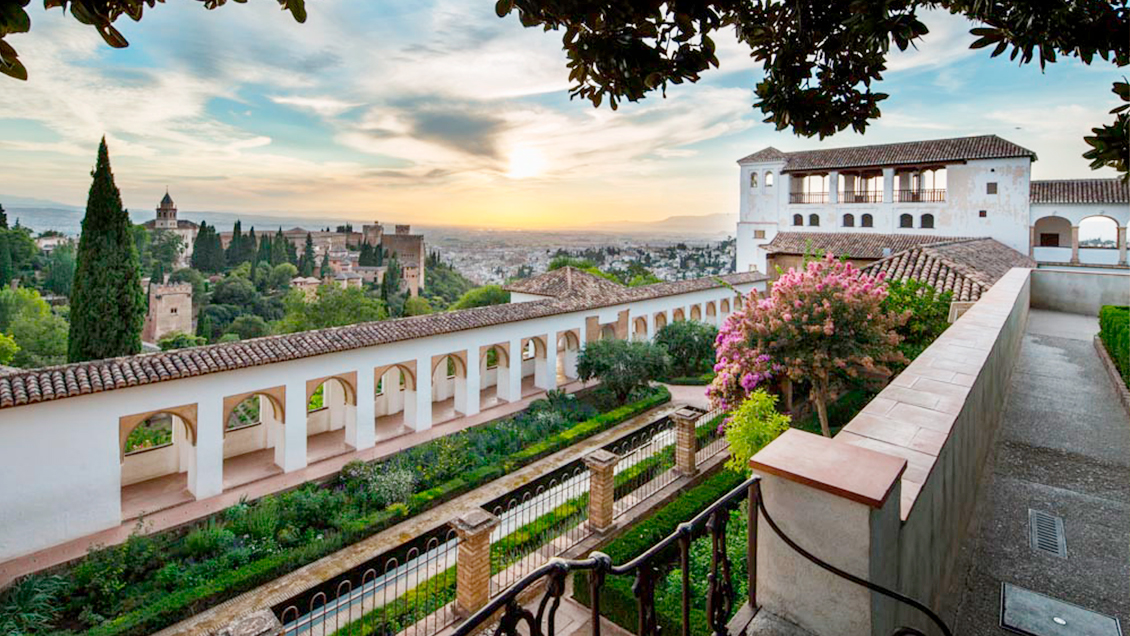 The Alhambra and the Generalife, <br> Granada