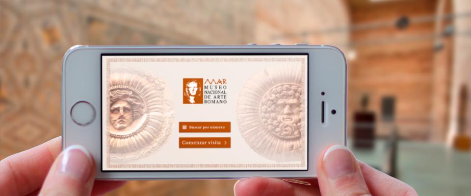 El Museo de Arte Romano de Mérida presenta la aplicación oficial para su visita