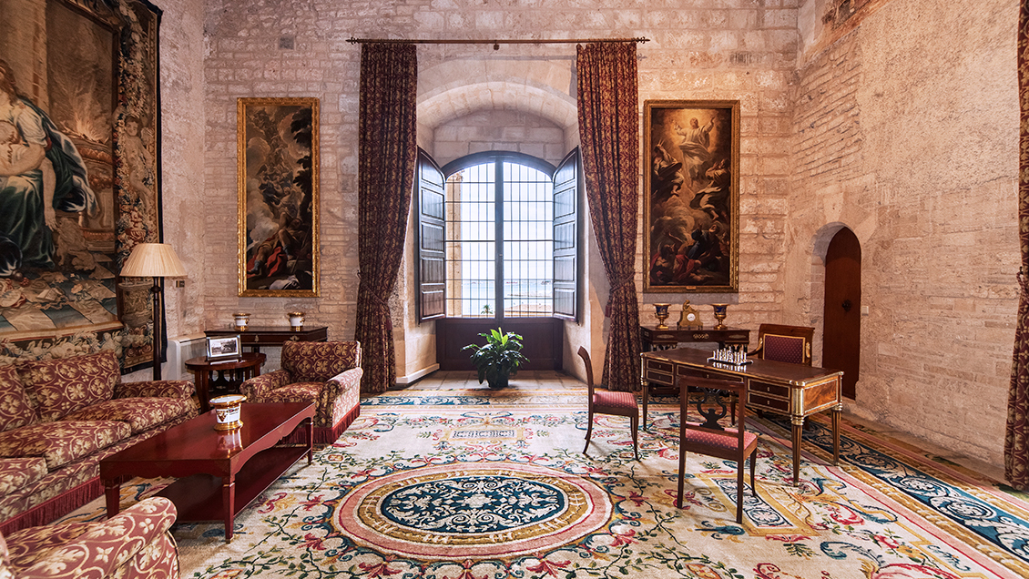 Palacio Real de La Almudaina, <br> Palma de Mallorca