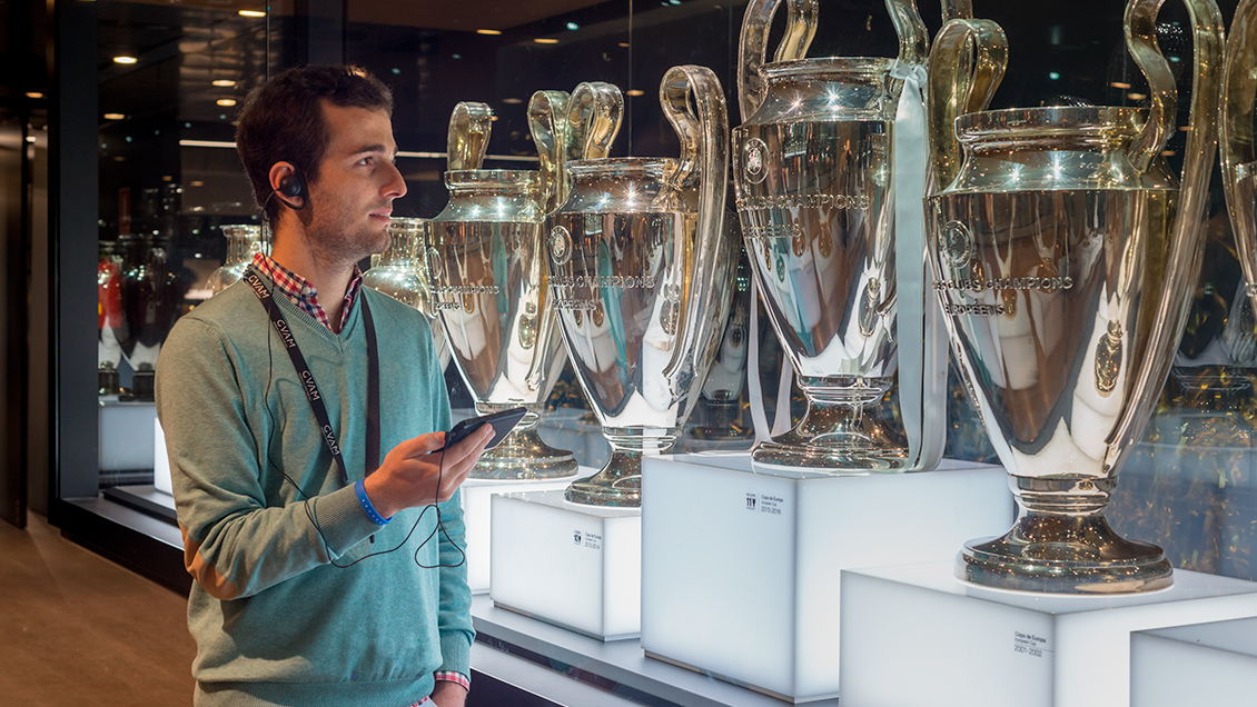 Tour Bernabéu,<br>Madrid