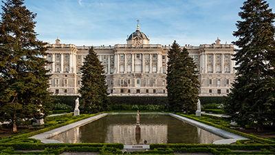 Reali e nei Monasteri, <br> Patrimonio Nazionale