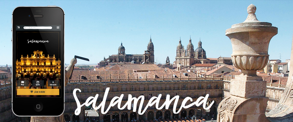 Salamanca estrena la primera app que conecta sus atractivos culturales con servicios turísticos