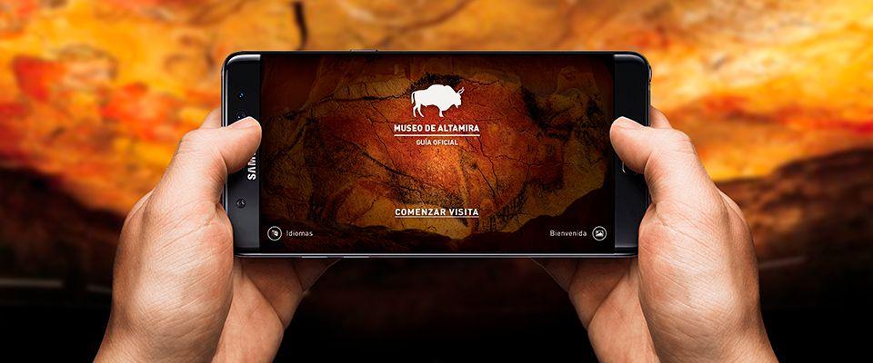 El Museo Nacional y Centro de Investigación de Altamira estrena nueva app
