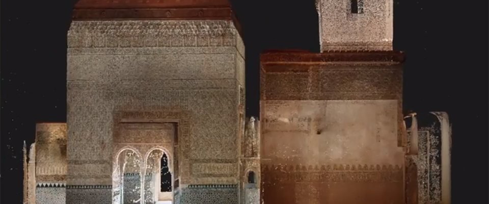 Making-of the 3D virtual recreation of the Tower of the Captive (Alhambra)