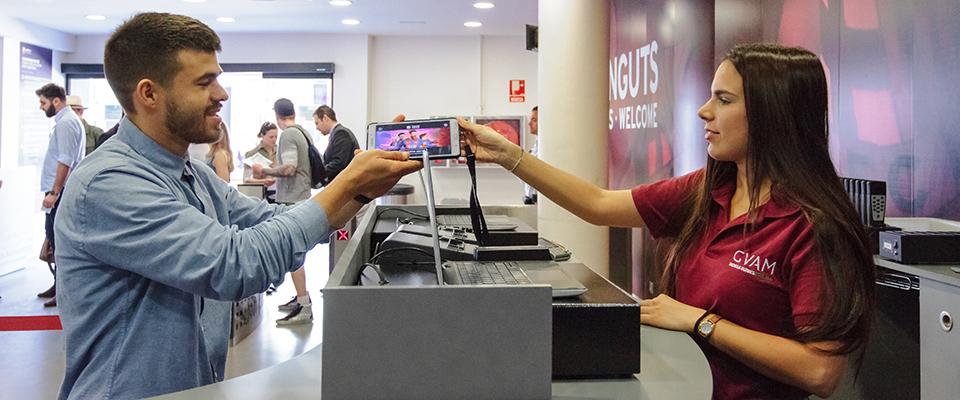 Nuestras audioguías interactivas según el equipo de atención al visitante