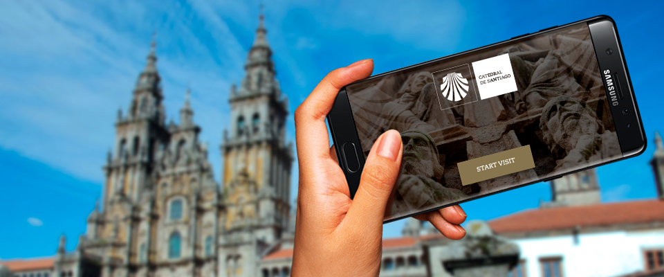 The Cathedral of Santiago launches a new interactive audioguide for iOS and Android