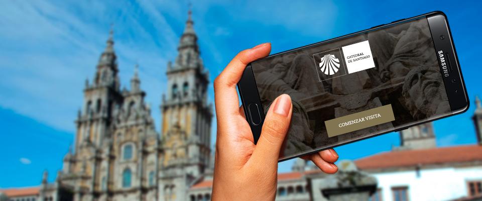La Catedral de Santiago estrena una nueva guía interactiva para iOS y Android