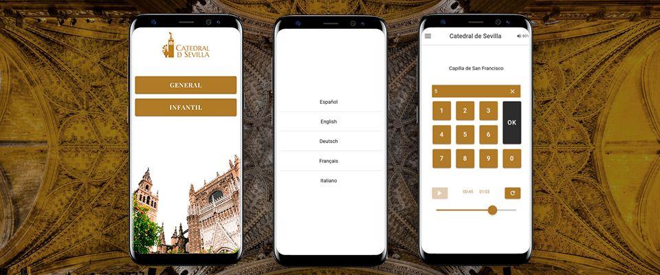 De la audioguía móvil a la guía inteligente en la Catedral de Sevilla