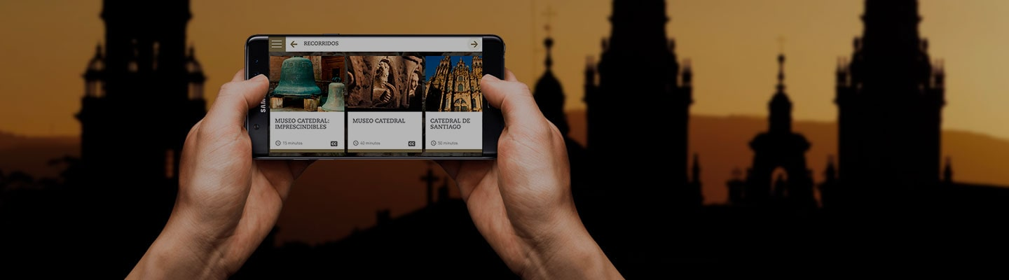 Getting to know Galicia without leaving your home is possible through two free apps