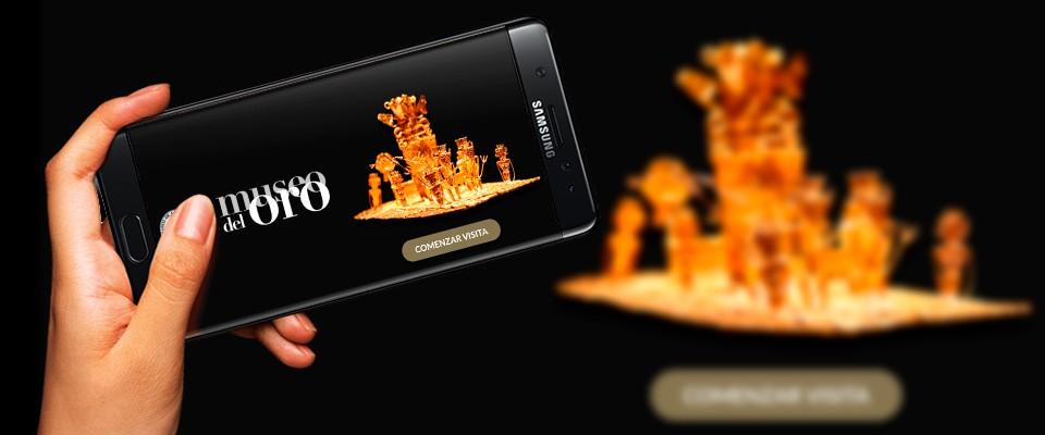El Museo del Oro de Colombia estrena app en el Día de los Museos