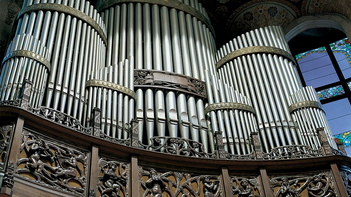 Palau de la Música Catalana  <br> Barcelona