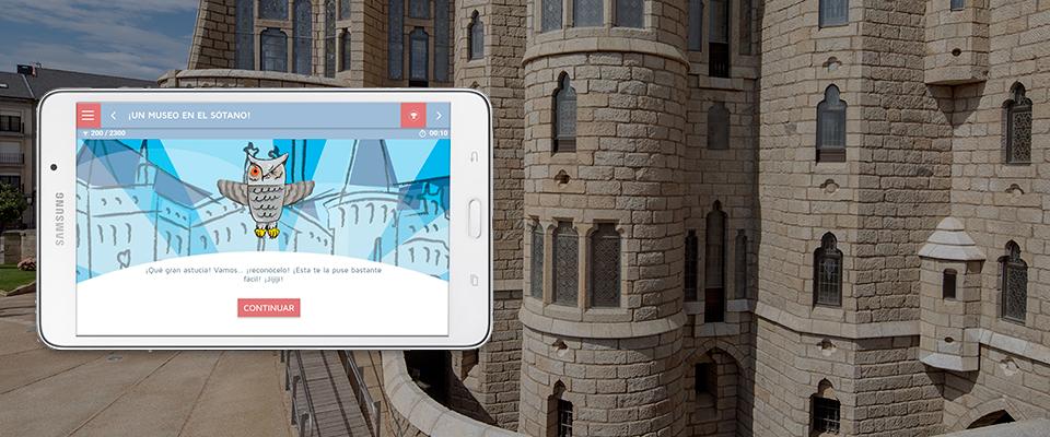 El Palacio de Gaudí estrena la nueva guía interactiva de GVAM para escolares y familias