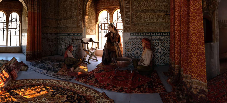 Recreación Tridimensional Virtual: La Torre de la Cautiva de la Alhambra cobra vida