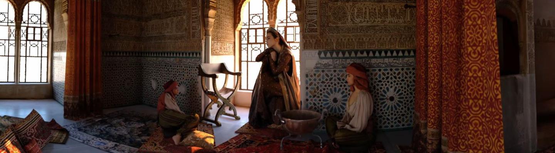 Reconstitution virtuelle en trois dimensions : la tour de la captive de l'alhambra prend vie